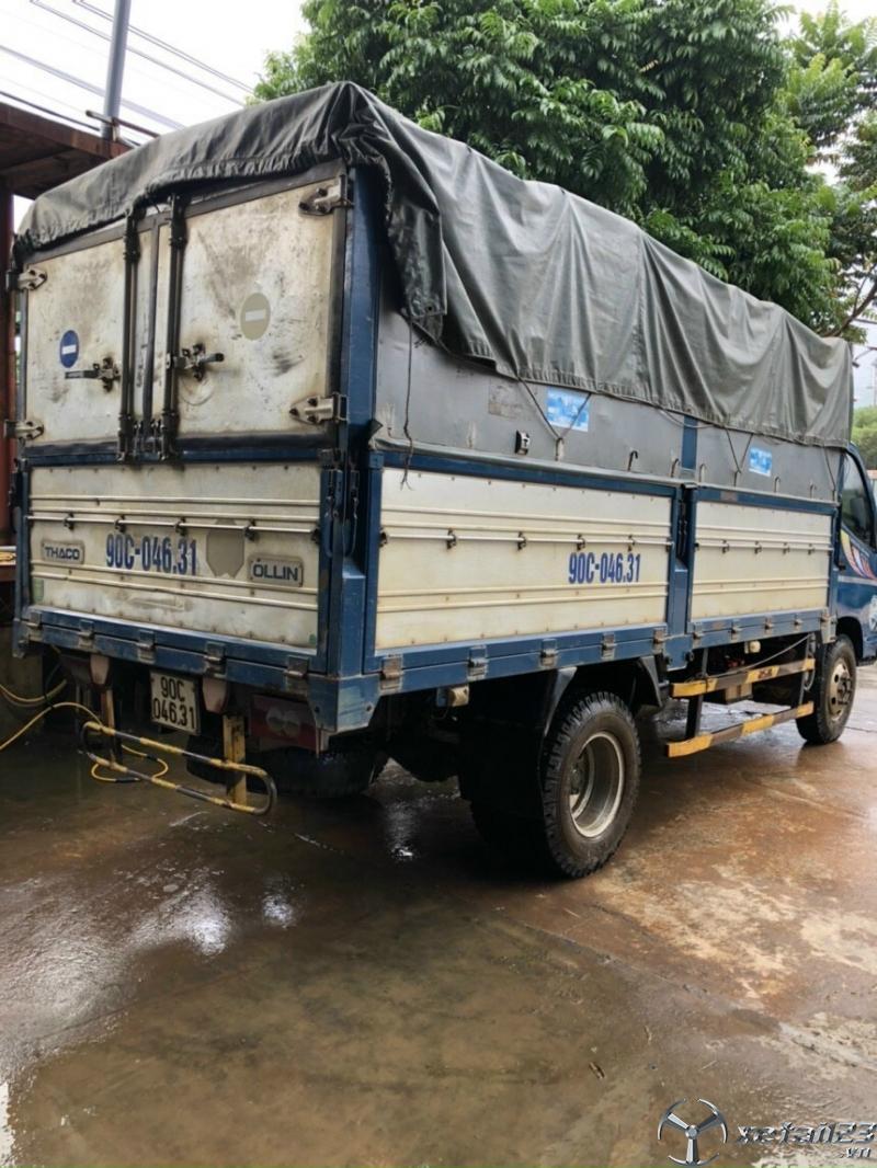 Xe Thaco Ollin 500B đời 2015 thùng mui bạt đã qua sử dụng cần bán với giá chỉ 215 triệu
