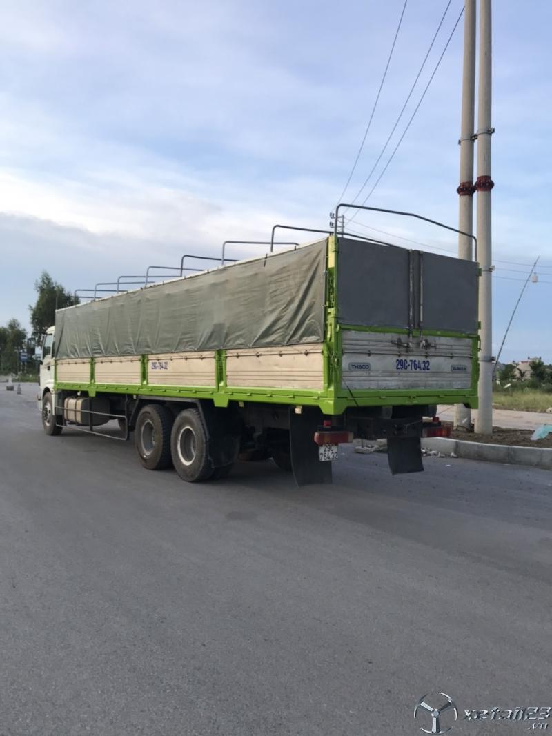 Bán Thaco Auman 3 chân sản xuất năm 2015 thùng mui bạt giá chỉ 550 triệu