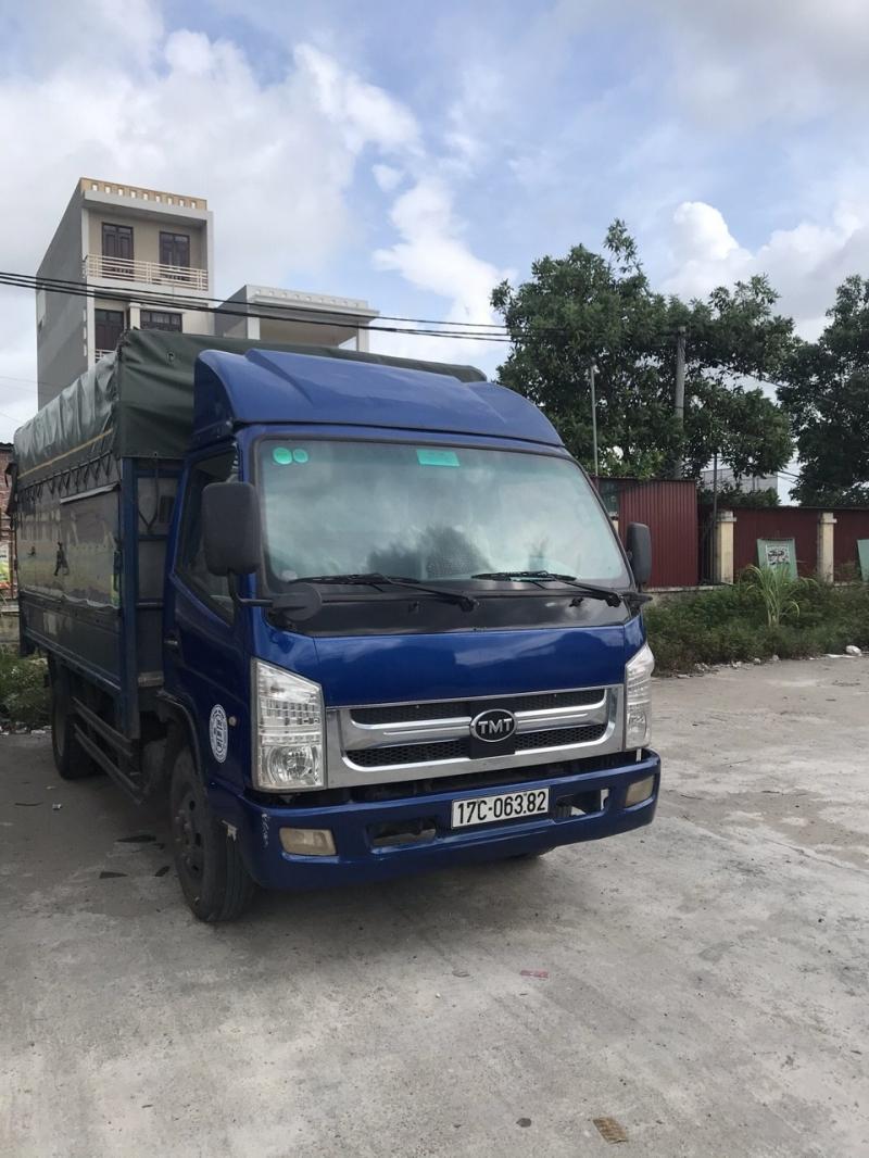 Bán xe TMT tải 6 tấn , máy Isuzu đời 2015 thùng mui bạt