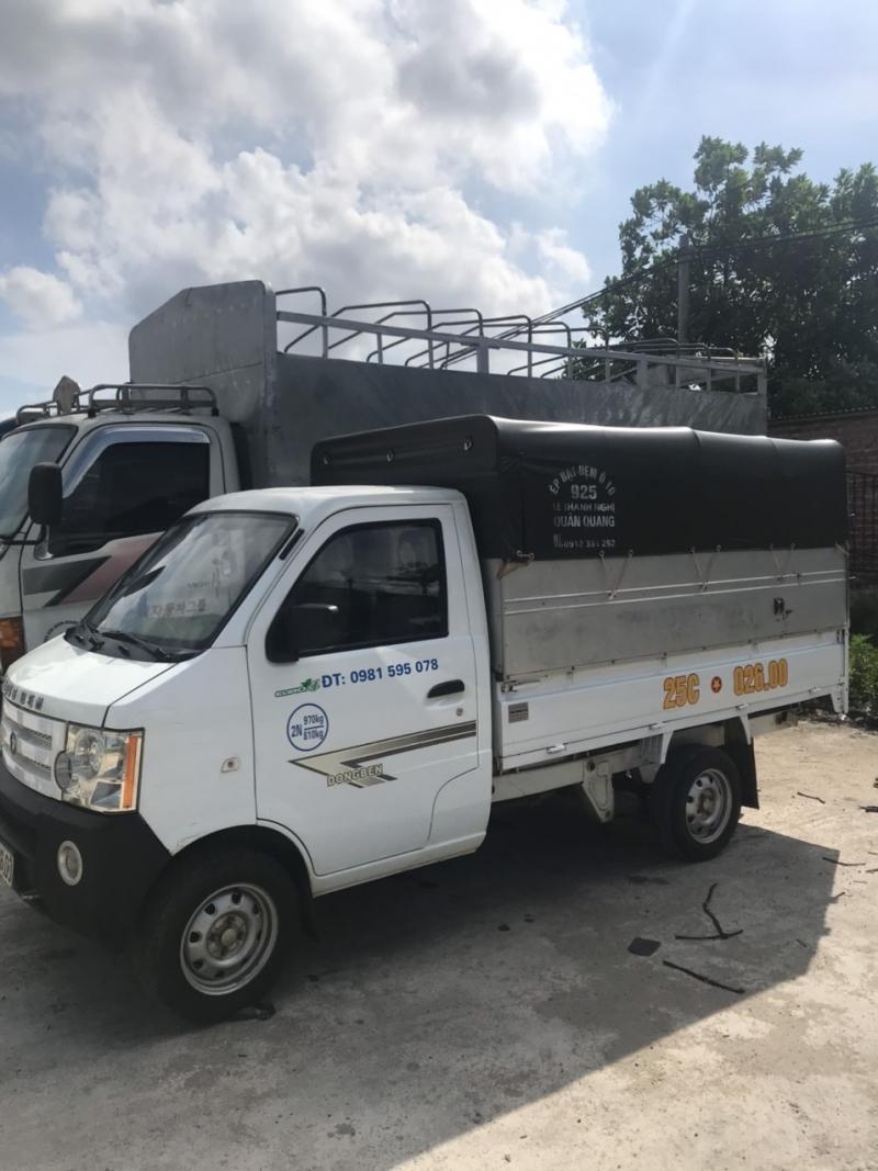 Cần bán Dongben đời 2017 thùng mui bạt với giá 115 triệu
