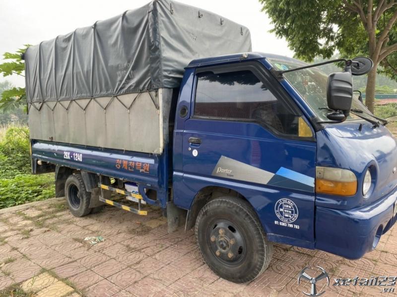 Rao bán xe Hyundai Porter H100 1 tấn thùng mui bạt đời 2005 giá chỉ 125 triệu