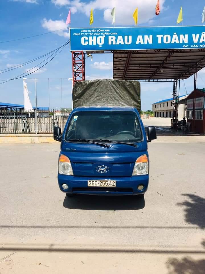 Bán xe Hyundai đời 2007 , xe chính chủ - phiên bản thùng mui bạt