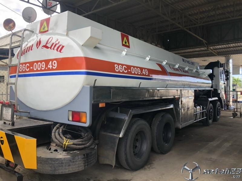Bán xe bồn xăng dầu sx 2011 giá 1250 triệu
