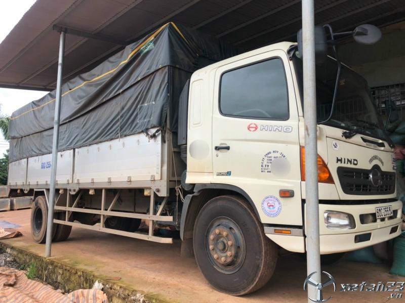 Xe Hino FG 8,3 tấn đời 2015 thùng mui bạt cần bán giá tốt nhất
