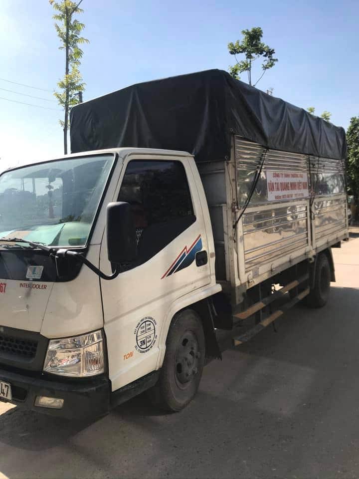 ô tô tải Đô thành sản xuất năm 2017 thùng mui bạt đã qua sử dụng giá chỉ 275 triệu