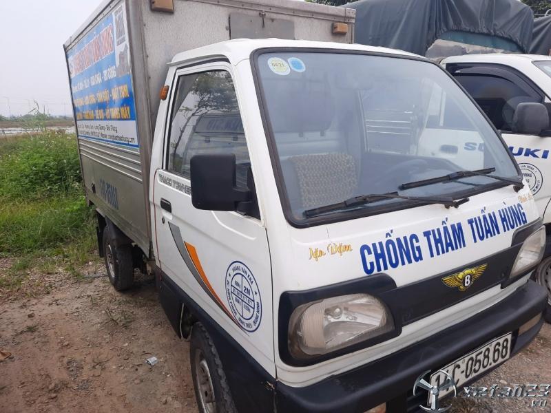 Cần bán xe Thaco Towner sản xuất năm 2012 thùng kín