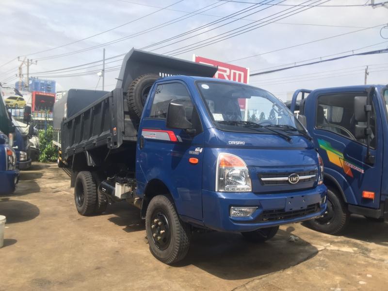Xe Ben TMT Daisaki tải 3t45, máy Isuzu, chỉ cần 130tr nhận xe ngay