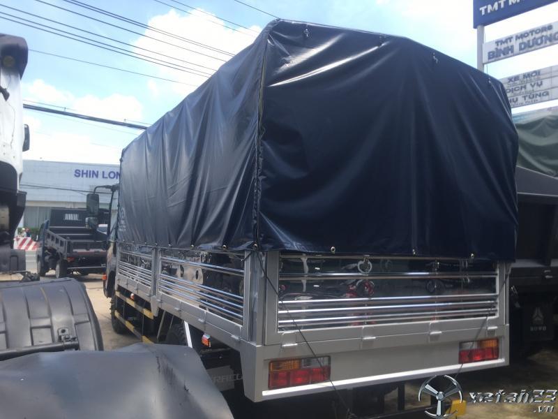 Xe tải 2t4 Thùng dài 4m4/ Máy Isuzu/ Trả Trước 80tr