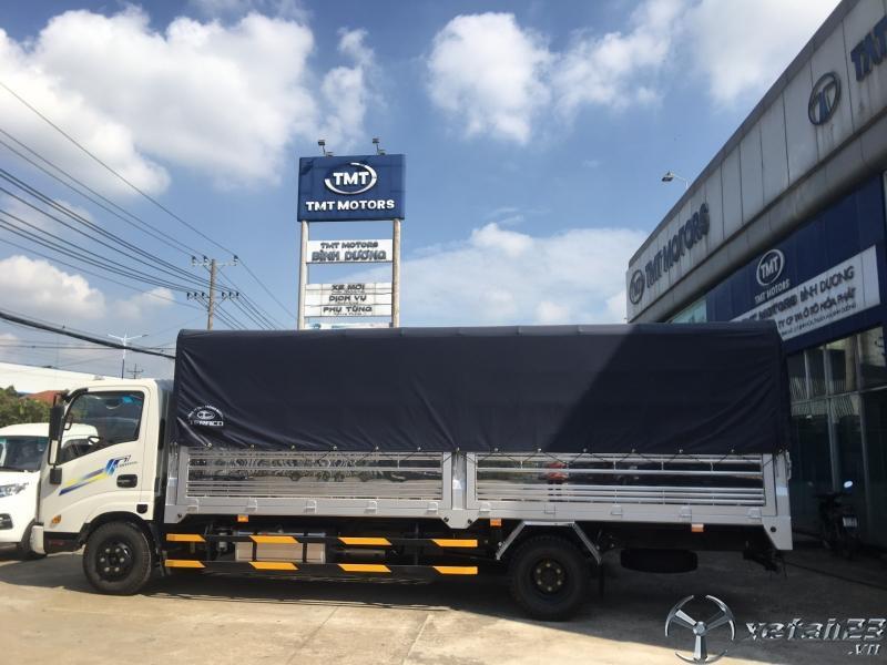 Xe tải DAEHAN tải 1T9/ Máy Isuzu/ Thùng 6M lọt lòng