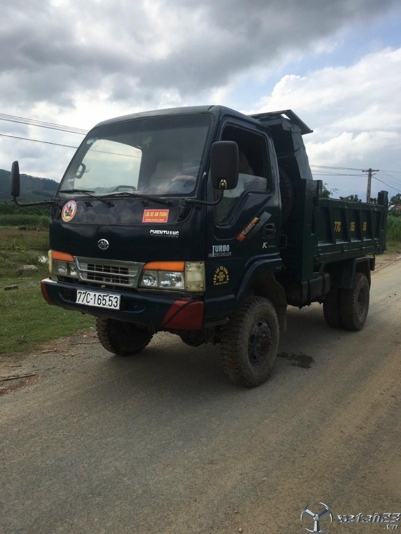 Bán xe ben Chiến Thắng 2 tấn 2 cầu sản xuất năm 2013