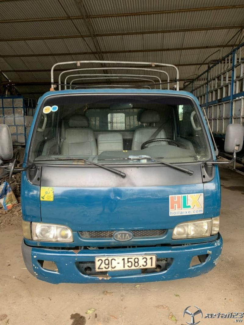 Xe Kia K3000S sx 2012 thùng mui bạt đã qua sử dụng cần bán với giá rẻ nhất