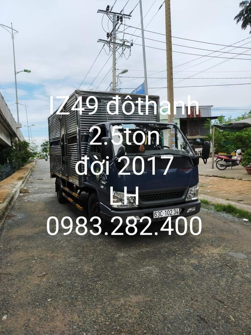 Bán ô tô tải Đô Thành I249 đời 2017 phiên bản thùng kín.Chỉ với 268 triệu sở hữu ngay xe đẹp