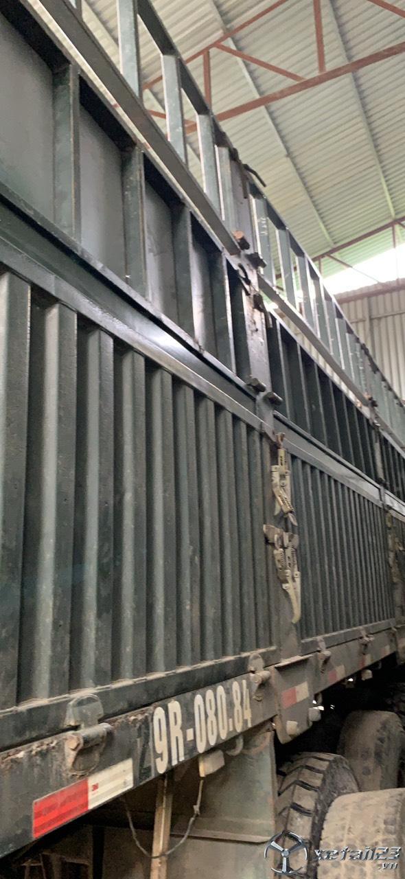 Bán sơ mi rơ mooc lồng Đại Hoàng việt dài 12,8m đời 2014 giá 260 triệu
