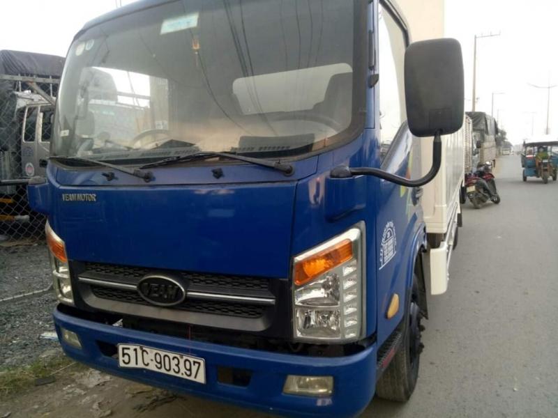 Bán xe tải Veam đời 2015 phiên bản thùng kín.Sẵn xe giao ngay