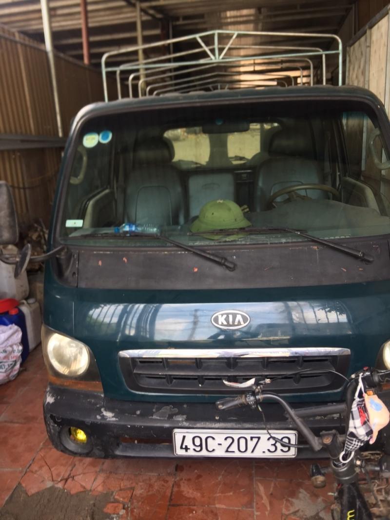 Bán xe Kia K2700II đời 2005 phiên bản thùng mui bạt , sẵn xe giao ngay