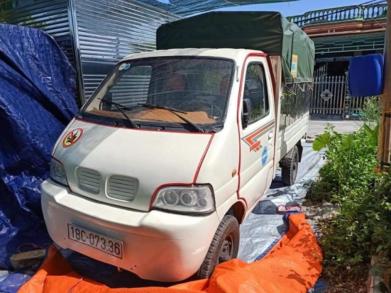 Bán xe Dongben sản xuất năm 2010 phiên bản thùng mui bạt bọc Inox từ trong ra ngoài.Giá chỉ 55 triệu