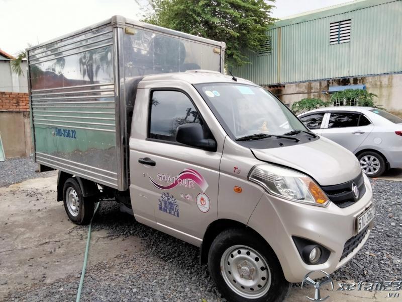Bán xe tải Foton tải 830kg đời 2018 đã qua sử dụng mới chạy 3000km