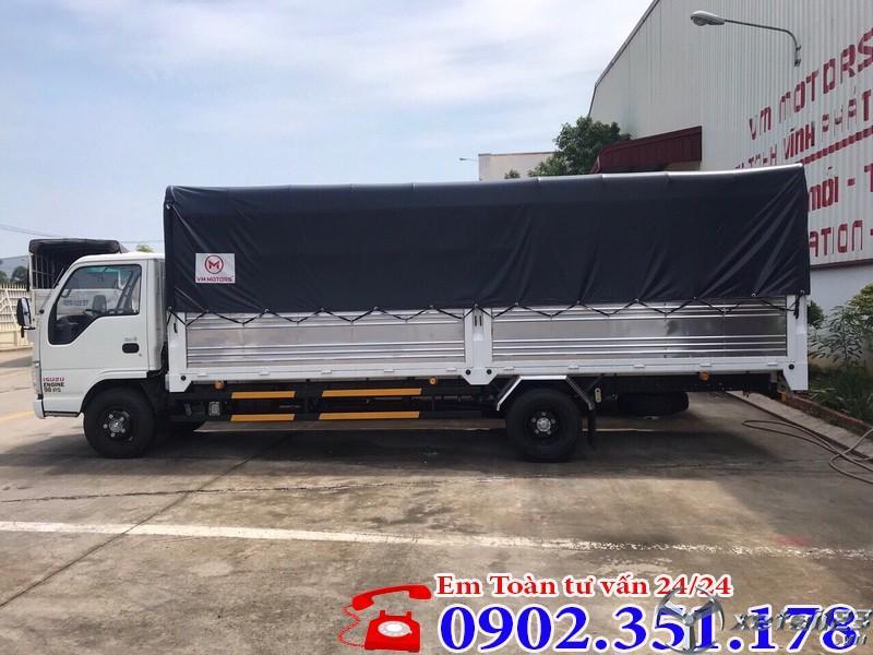 Bán Xe tải Isuzu 1.9 tấn thùng dài 6.2 mét giá tốt - LH: 0902.351.178