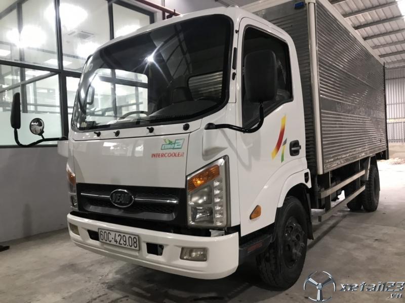 Cần bán Xe tải Veam 3t4 đời 2015 cũ đã qua sử dụng thùng kín Full INOX 304