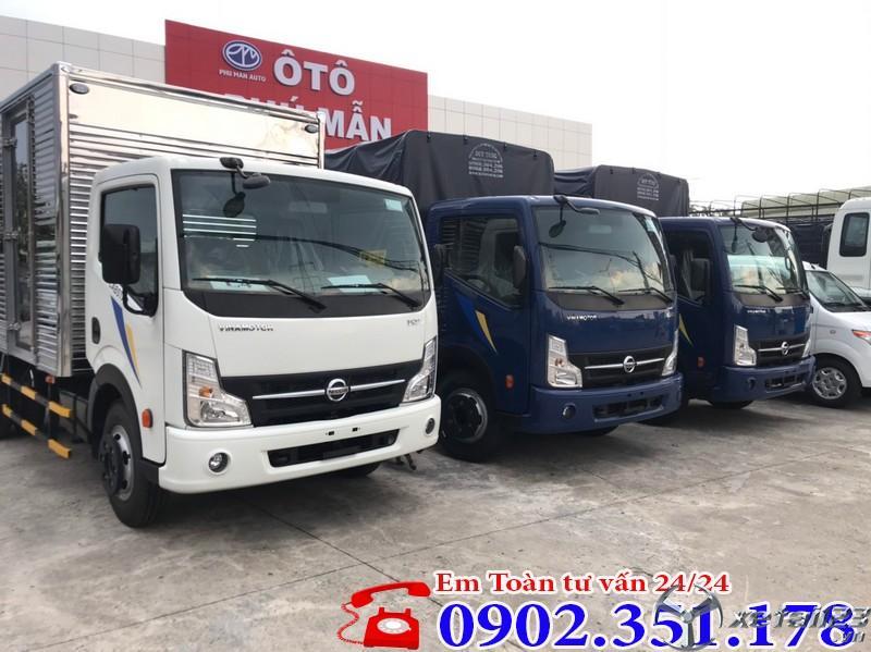 Giá xe tải Nissan 1.9 tấn
