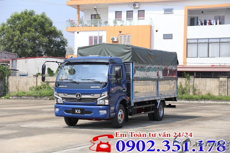 Xe tải 5 tấn Vinamotor K6  động cơ Nissan Nhật Bản