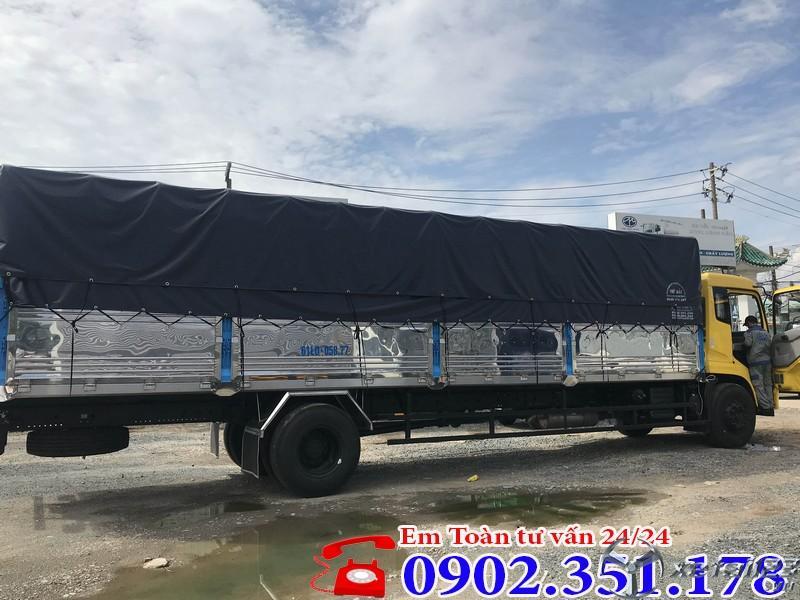 Xe tải 8 tấn thùng dài 9.5 mét nhập khẩu