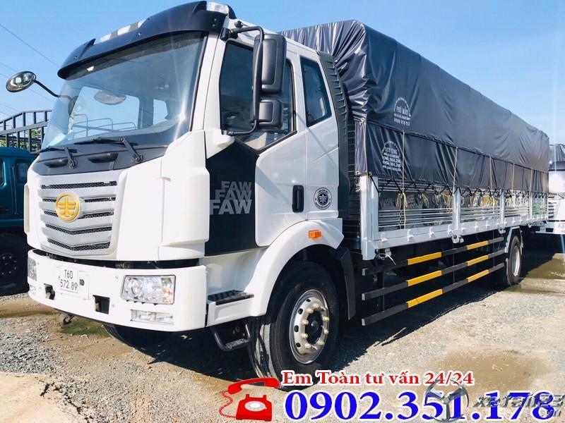 Xe tải 8 tấn thùng dài FAW giá tốt - Tặng 100% Phí trước bạ