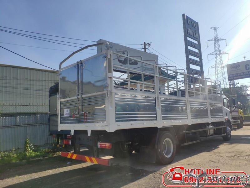 Xe tải 9 tấn thùng dài 8 mét Full Inox giá tốt