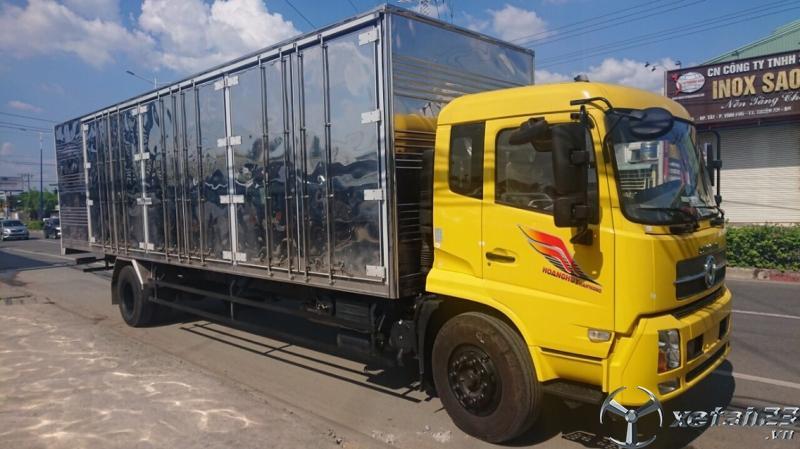 Xe tải Dongfeng 8 tấn thùng dài 9.7 mét thùng kín - Trả góp chỉ 300 triệu trả trước