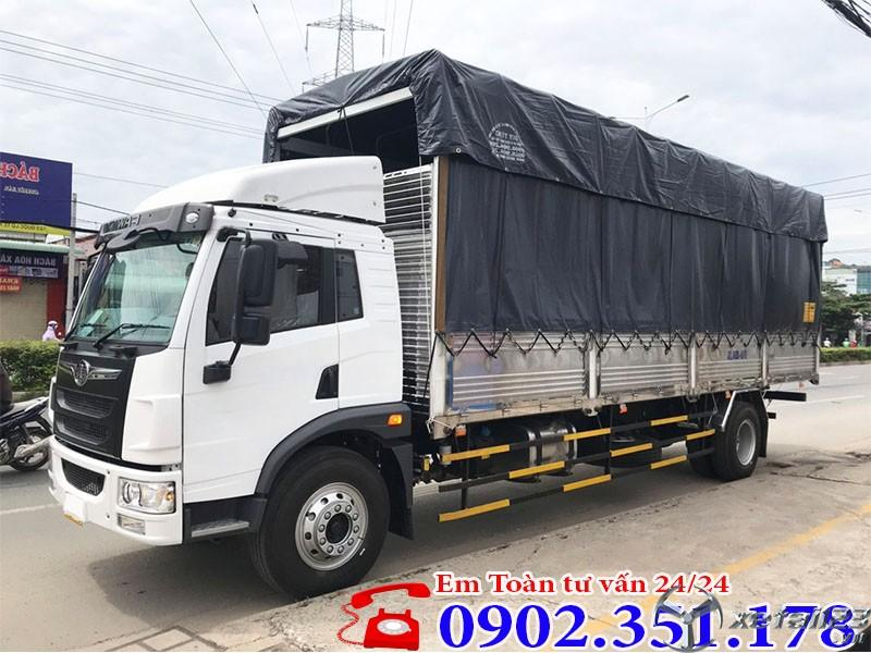 Xe tải Faw 8.7 tấn thùng dài 8.3 mét full inox giá rẻ