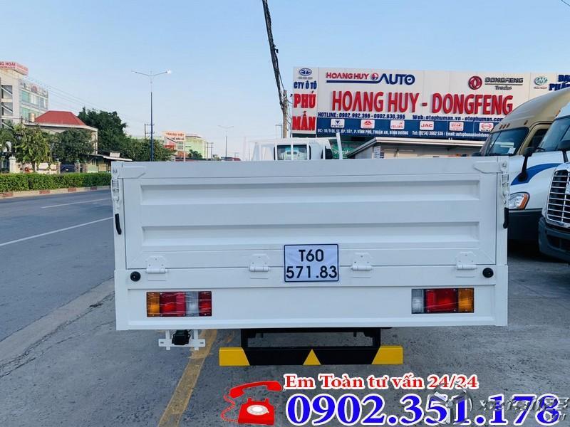 Xe tải Isuzu 1.9 tấn thùng lững giá rẻ - LH: 0902.351.178
