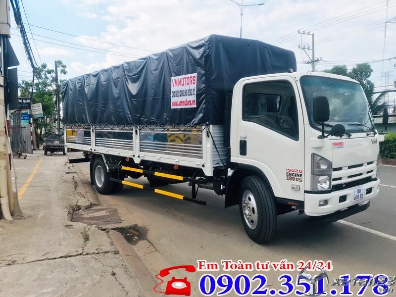Xe tải ISUZU 8.2 tấn thùng dài 7 mét giá tốt - Chỉ từ 250 triệu trả trước