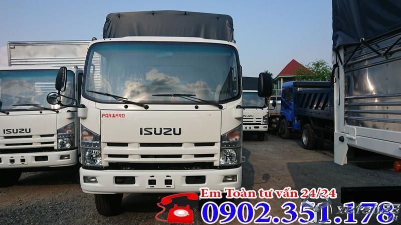 Xe tải isuzu 8 tấn thùng dài giá tốt