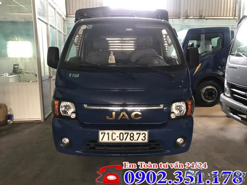 Xe tải Jac 1 tấn 5 cũ đời 2018