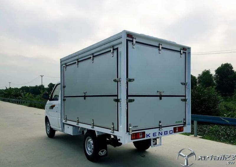 Xe tải nhỏ thùng cánh dơi Kenbo giá tốt chỉ 60 triệu trả trước