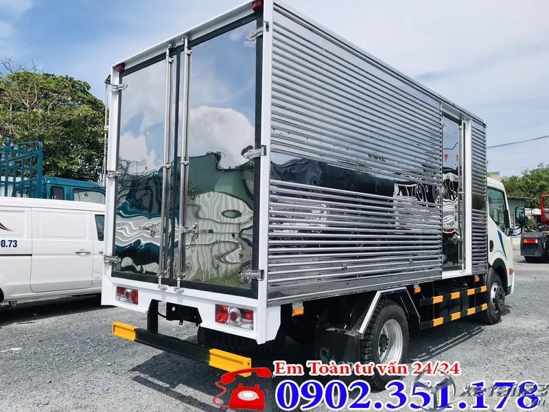 Xe tải Nissan 1t9 thùng kín Inox Nhật Bản - Chỉ 130 triệu trả trước