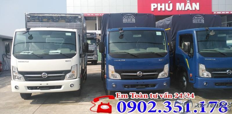 Xe tải Nissan 1t9 vào được thành phố