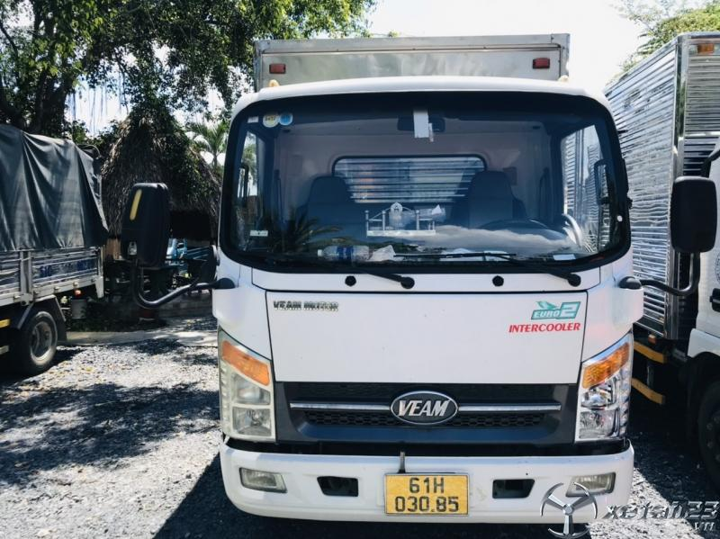 Xe tải Veam 1t9 đời 2017 ga cơ thùng dài 6m cũ giá rẻ