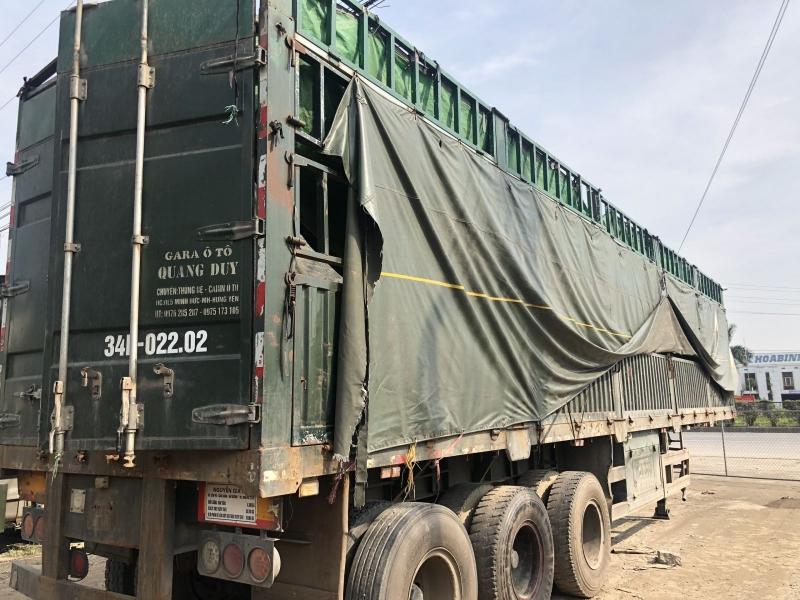 Bán Mooc lồng 12m8 tải trọng 31 tấn cao 4m đời 2014 giá chỉ 240 triệu