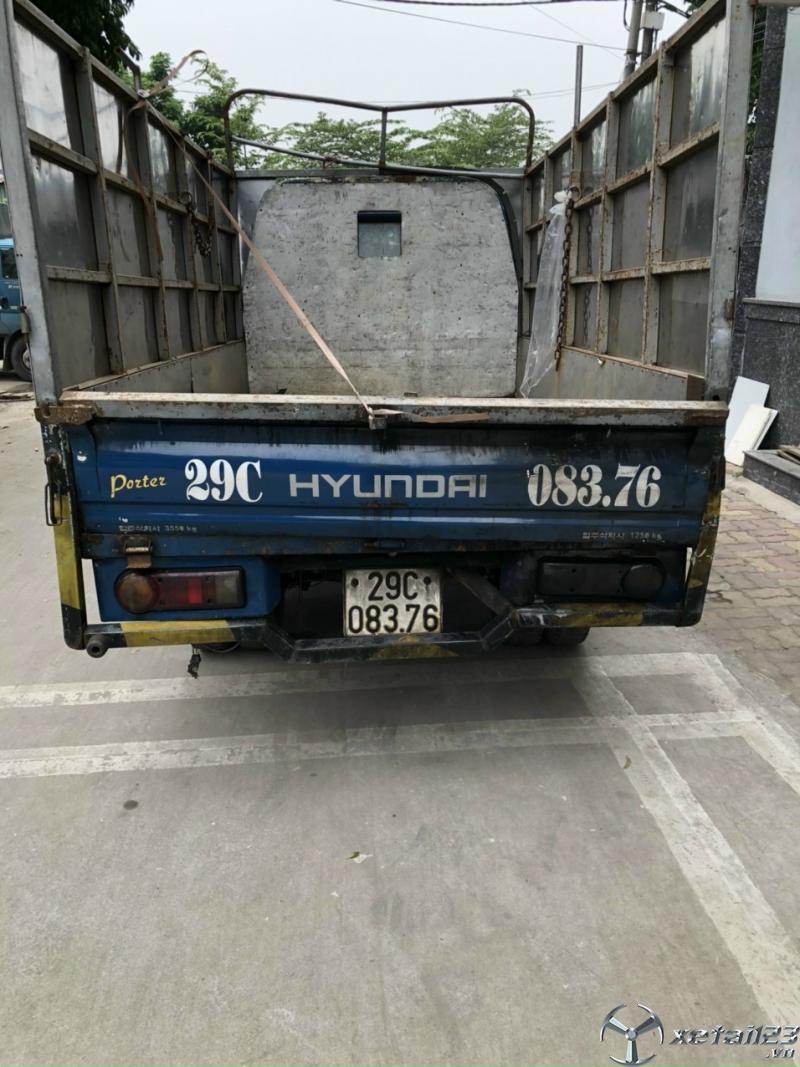 Bán gấp Hyundai Porter đời 1999 thùng mui bạt