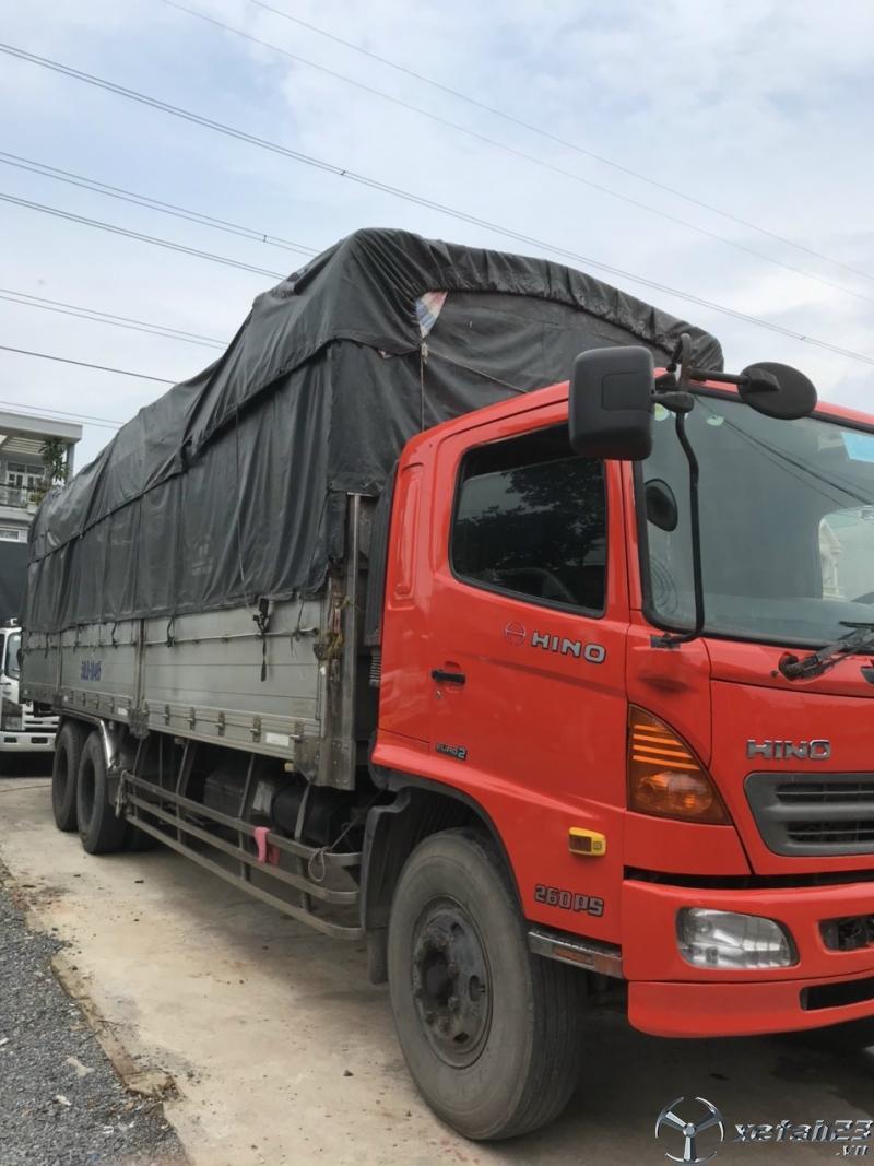 Bán xe Hino FL đời 2009 thùng mui bạt