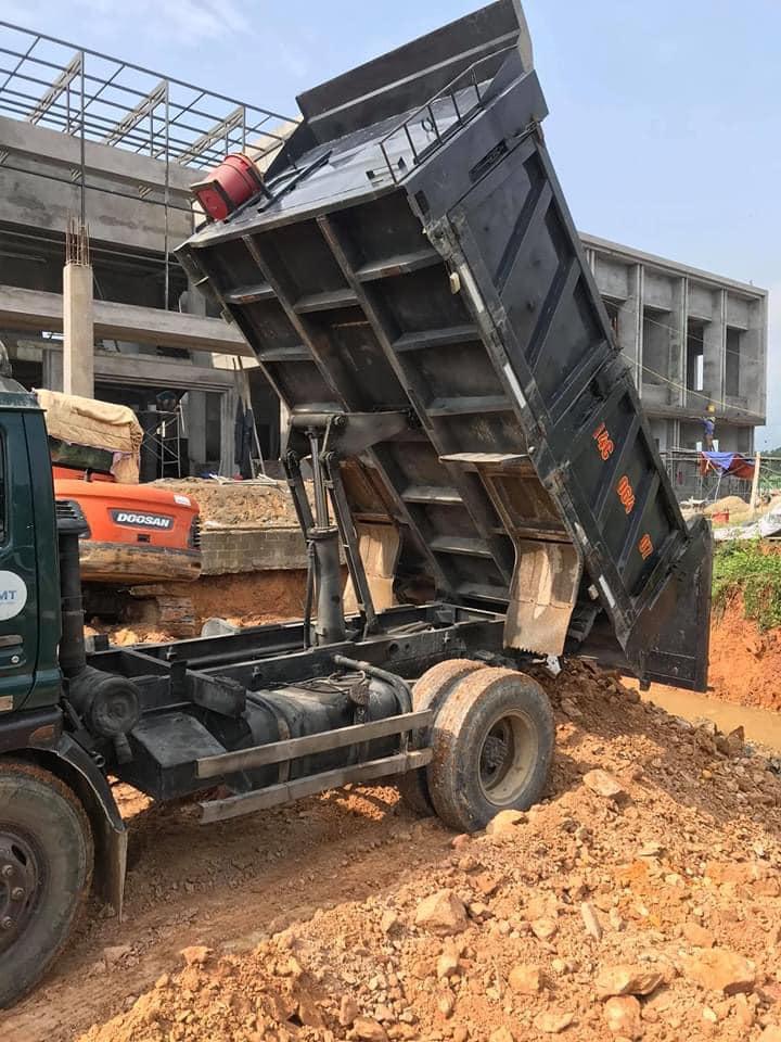 Bán xe tải ben cuulong tmt 5t sản xuất 2013