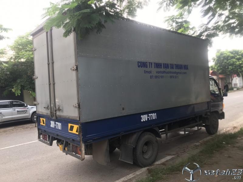 Bán gấp xe Hyundai 3,5 tấn nhập khẩu phiên bản thùng kín