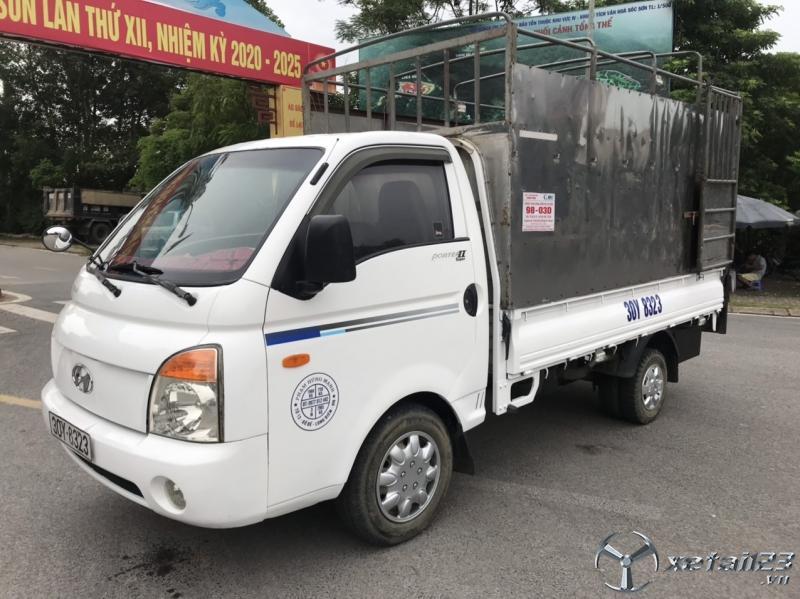 Bán Hyundai Porter II đời 2004 thùng mui bạt giá chỉ 125 triệu