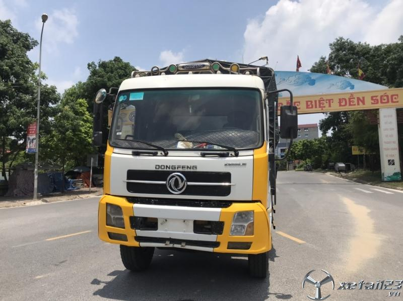 Bán xe Dongfeng Hoàng Huy B170 sản xuất 2015 thùng mui bạt giá rẻ nhất