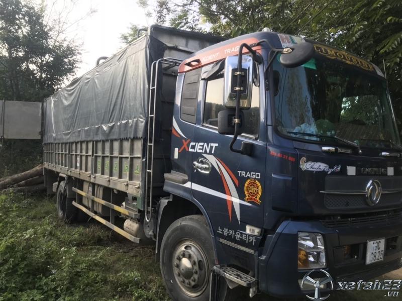 Cần bán xe Dongfeng Hoàng Huy đời 2015 thùng mui bạt giá 565 triệu