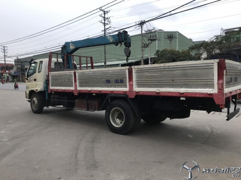 Xe cẩu Thaco Ollin 800A đời 2015 đã qua sử dụng cần bán giá 510 triệu