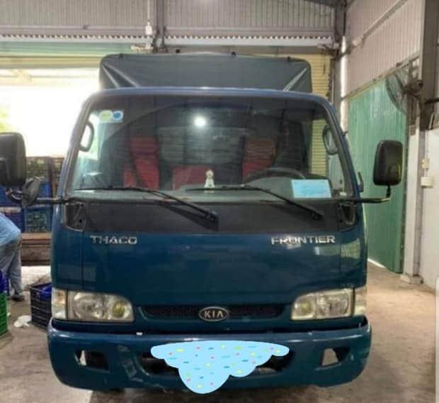 Giao bán xe Thaco Frontier K165 tải 2,4 tấn đời 2005, thùng mui bạt  với giá chỉ 257 triệu