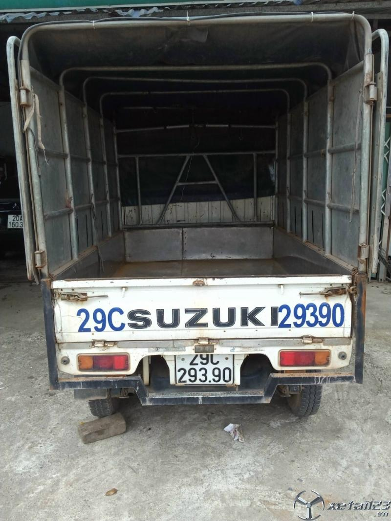 Xe tải Suzuki đời 2013 thùng mui bạt cần bán giá tốt nhất
