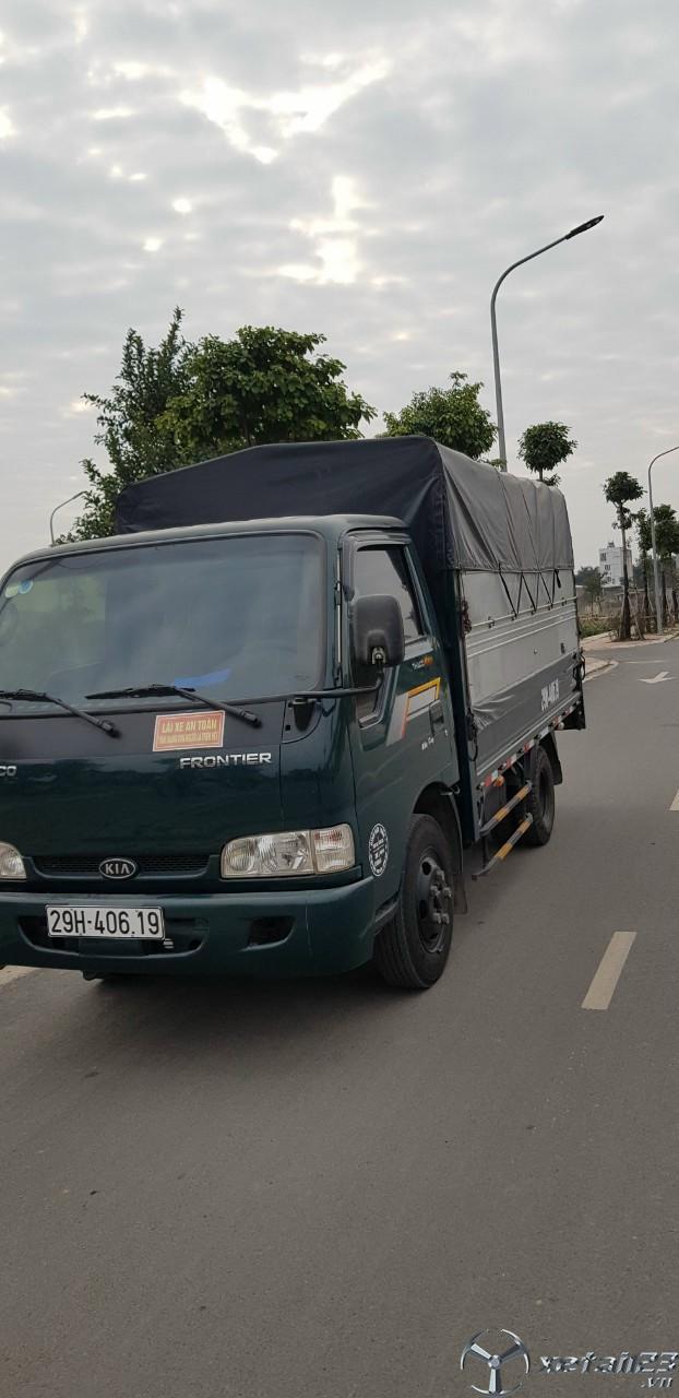Rao bán xe Kia K165 đời 2017 thùng mui bạt với giá chỉ 320 triệu